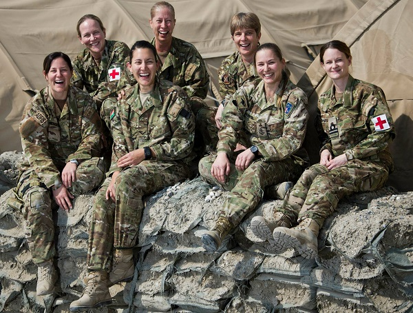 Australian Defence Force personnel on Operation Highroad in Afghanistan as part of the NATO-led Resolute Support mission.