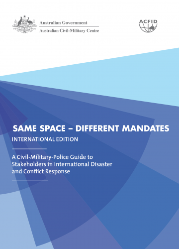 Same Space - Different Mandates (International Edition)