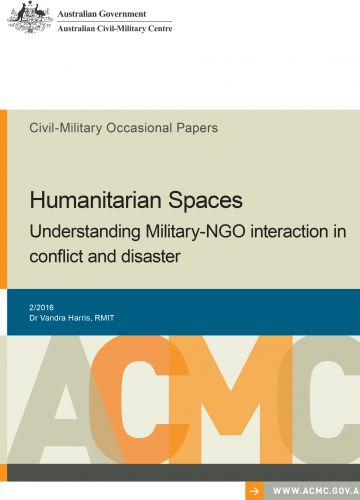 Humanitarian Spaces: Understanding Military-NGO Interaction in Conflict and Disaster_cover image