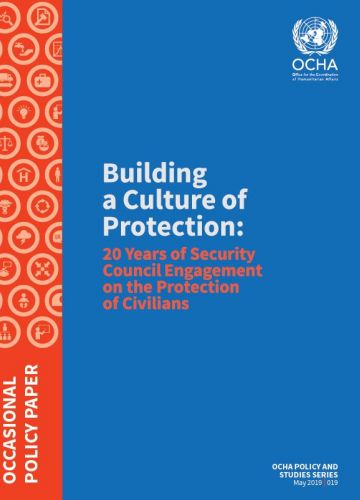 cover image - Building a Culture of Protection: 20 Years of Security Council Engagement on the Protection of Civilians