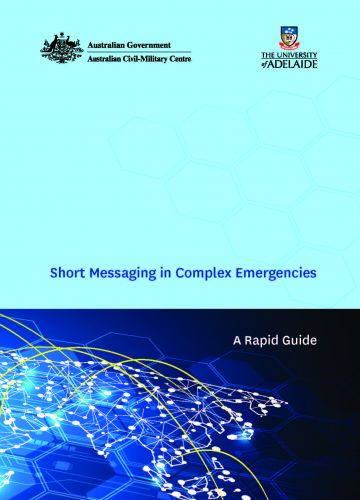 Short Messaging in Complex Emergencies