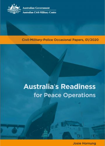 Australia's Readiness for Peace Operations Cover